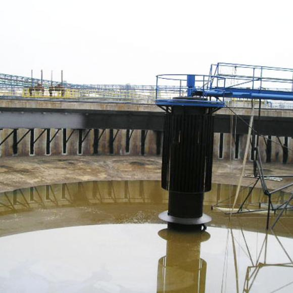 renewal of paints of sedimentation tanks - OVaK