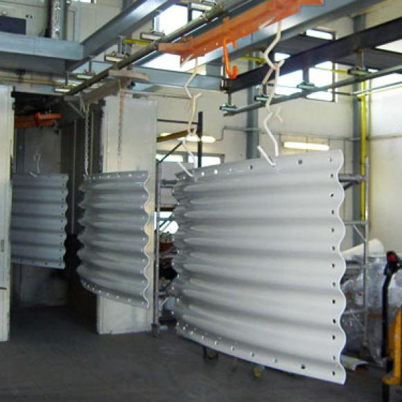 """complete anticorrosion protection of plates """"Super Cor"""""""